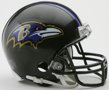 Riddell Baltimore Ravens NFL Mini Football Helmet