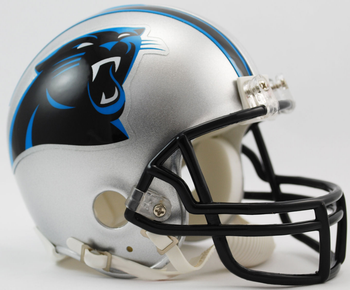 Carolina Panthers NFL Mini Football Helmet