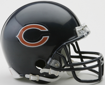 Chicago Bears NFL Mini Football Helmet