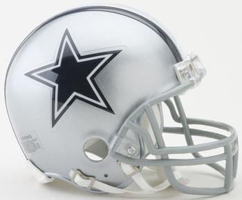 Dallas Cowboys NFL Mini Football Helmet