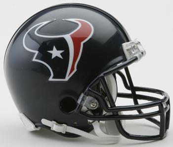 Houston Texans NFL Mini Football Helmet