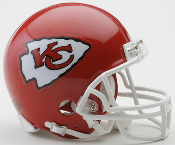 Kansas City Chiefs NFL Mini Football Helmet