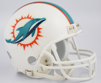 Miami Dolphins NFL Mini Football Helmet
