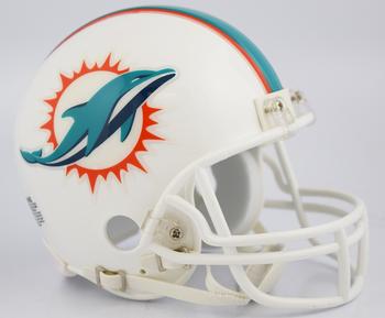 Miami Dolphins NFL Mini Football Helmet