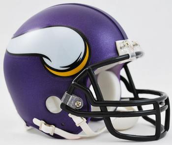 Minnesota Vikings NFL Mini Football Helmet