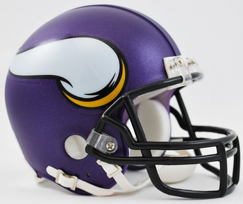 Minnesota Vikings NFL Mini Football Helmet