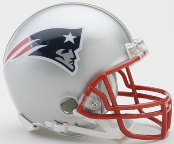 New England Patriots NFL Mini Football Helmet