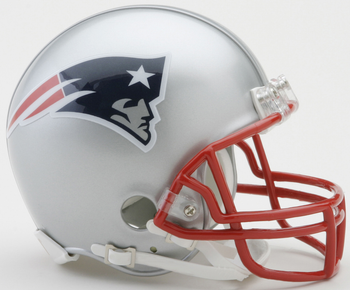 New England Patriots NFL Mini Football Helmet