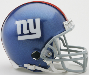 New York Giants NFL Mini Football Helmet