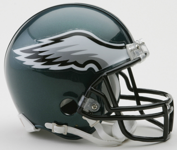Philadelphia Eagles NFL Mini Football Helmet