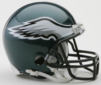 Philadelphia Eagles NFL Mini Football Helmet