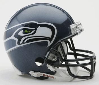 Seattle Seahawks NFL Mini Football Helmet