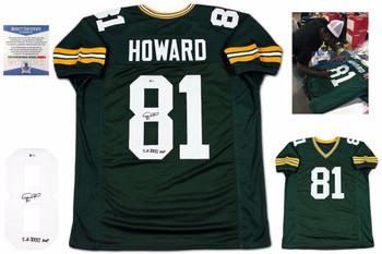 Desmond Howard Signed Green Jersey - PSA DNA - Green Bay Packers Autograph