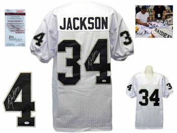 Bo Jackson Autographed Signed Jersey - White