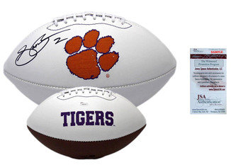 Sammy Watkins Autographed Signed Clemson Tigers Logo Football - JSA Witness