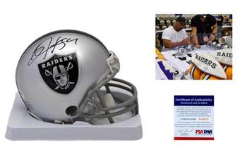 Bo Jackson Autographed Signed Oakland Raiders Mini Helmet PSA DNA