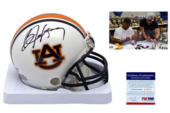 Bo Jackson Autographed Signed Auburn Tigers Mini Helmet PSA DNA Witness