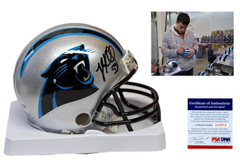 Luke Kuechly Signed Autographed Carolina Panthers Mini Helmet - PSA DNA