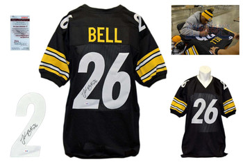 LeVeon Bell Signed Jersey - JSA Witnessed - Pittsburgh Steelers Autographed