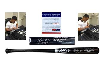 Jose Abreu Signed Rawlings Bat - PSA DNA - Chicago White Sox Autographed - 1
