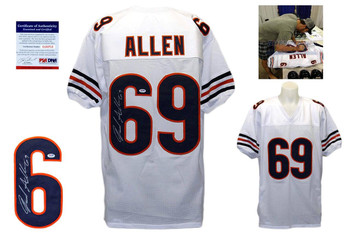 Jared Allen Signed Jersey - PSA DNA - Chicago Bears Autographed - White