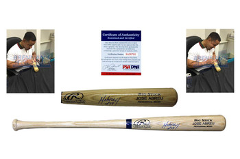 Jose Abreu Signed Rawlings Bat - PSA DNA - Chicago White Sox Autographed