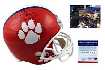Sammy Watkins Signed Helmet - JSA Witness - Clemson Tigers Autographed