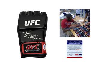 Jon Bones Jones Signed Glove - PSA DNA - UFC Training Gloves