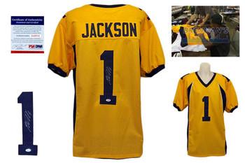 Desean Jackson Signed Jersey - Cal Bears Autographed - PSA DNA