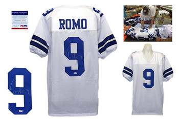 Tony Romo Signed Jersey - PSA DNA - Dallas Cowboys Autographed - White