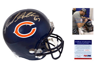 Jared Allen Signed Replica Helmet - Full Size Chicago Bears Autographed - PSA DNA