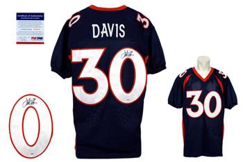 Terrell Davis Signed Jersey - Denver Broncos Autographed - PSA DNA