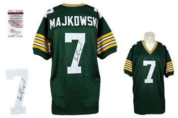 Don Majkowski Signed Jersey - Green Bay Packers Autographed - JSA Witness