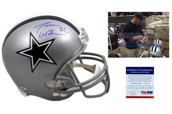 Jason Witten Signed Dallas Cowboys Full Size Helmet - JSA Witnessed Autographed