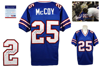 LeSean McCoy Signed Jersey - PSA DNA - Buffalo Bills Autographed