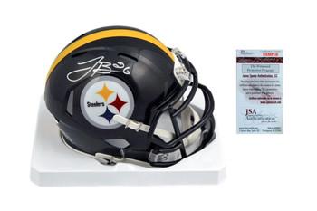LeVeon Bell Signed Pittsburgh Steelers Mini Helmet - JSA Witnessed