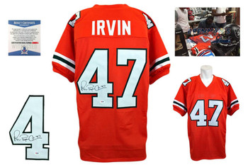 Michael Irvin Signed Jersey - Beckett - Miami Hurricanes Autographed