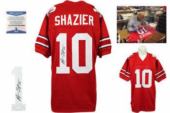 Ryan Shazier Autographed Jersey - Red - Beckett Authentic
