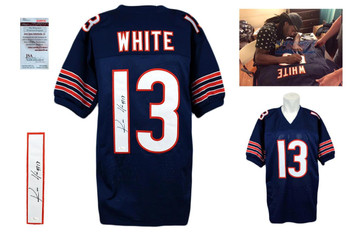 Kevin White Signed Jersey - JSA Witness - Chicago Bears Autographed - NVY
