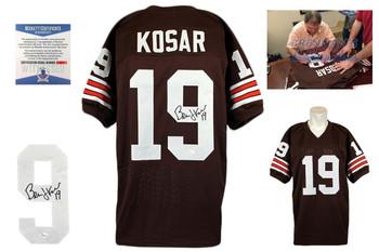 Bernie Kosar Autographed Signed Jersey - Beckett Witnessed