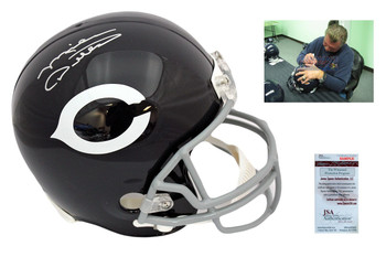 Mike Ditka Signed Full Size Chicago Bears Rep Helmet - TB - PSA DNA Autographed
