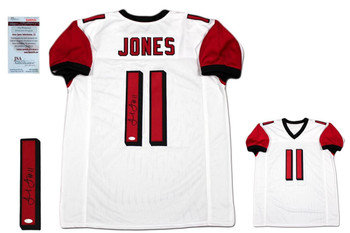 Julio Jones Autographed Signed Jersey - JSA Authentic - White