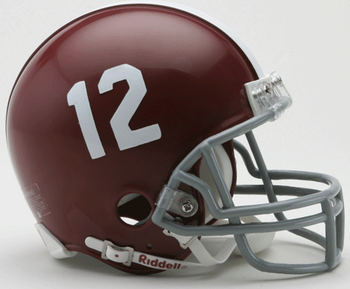 Alabama Crimson Tide Mini Football Helmet