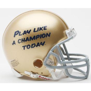 Notre Dame Fighting Irish Mini Football Helmet