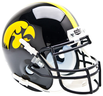 Iowa Hawkeyes Mini Speed Football Helmet