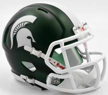 Michigan State Spartans Mini Speed Football Helmet