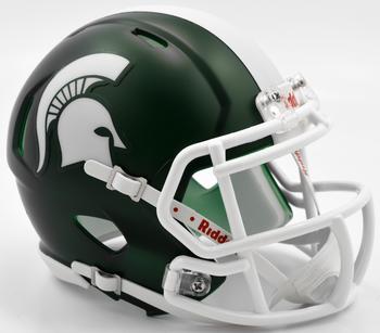 Michigan State Spartans Mini Speed Football Helmet
