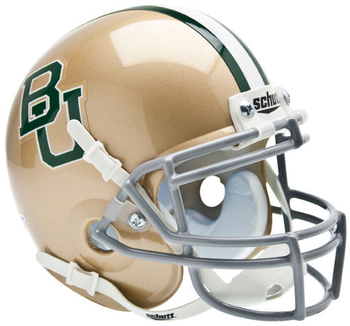 Baylor Bears Mini Speed Football Helmet