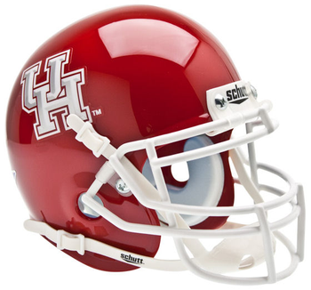 Houston Cougars Mini Speed Football Helmet