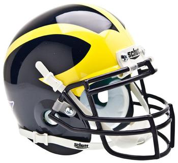 Michigan Wolverines Mini Football Helmet